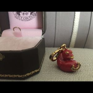 Juicy Couture Red Duck Duckie Bracelet Charm